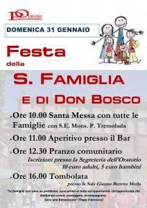 Festa della famiglia e di don Bosco 2016