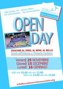Open day Locandina