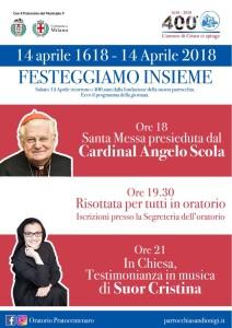 Eventi 14 aprile 2018