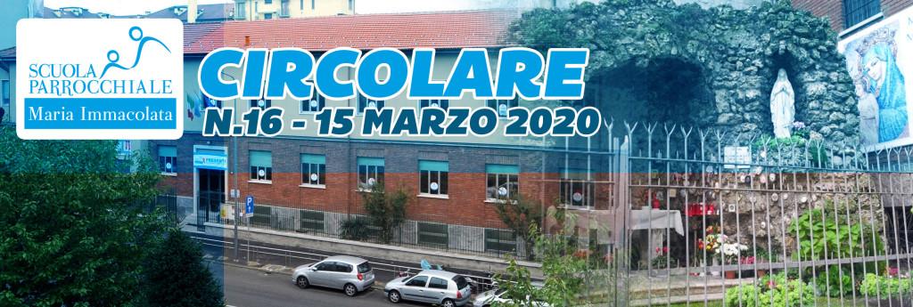 Circolare del 15 marzo 2020