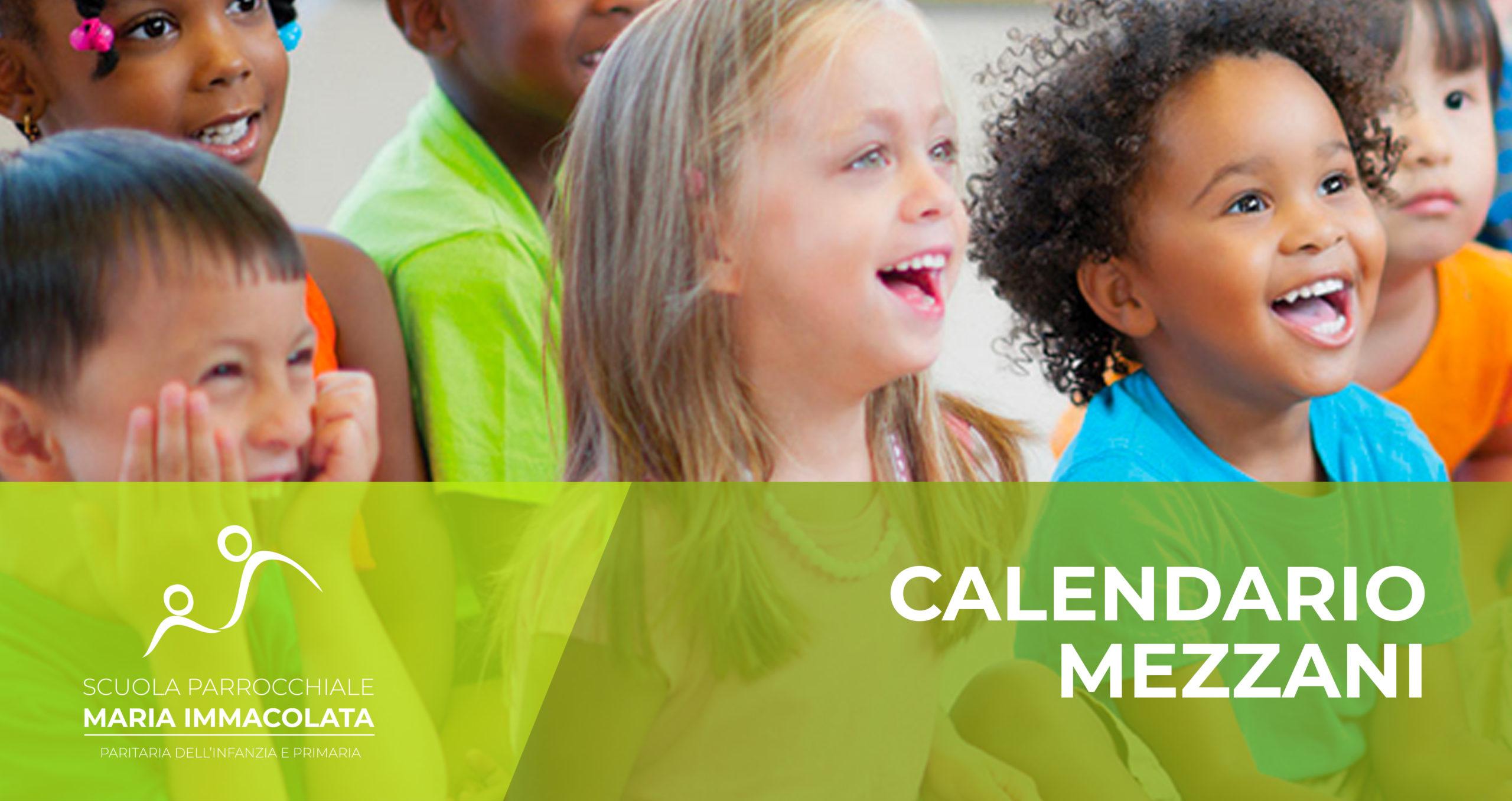 Calendario attività mezzani (secondo anno)