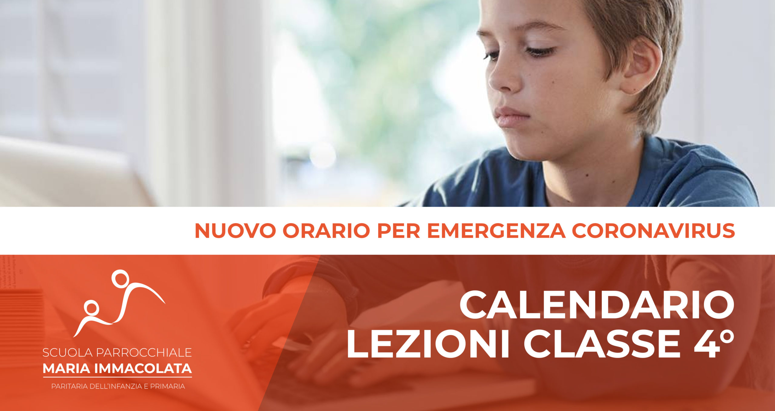 Calendario lezioni durante l'Emergenza Coronavirus – Classe 4