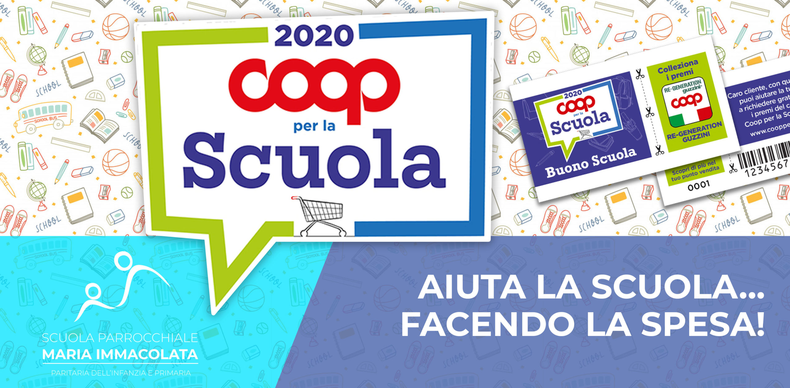 Iniziativa Coop per la Scuola 2020