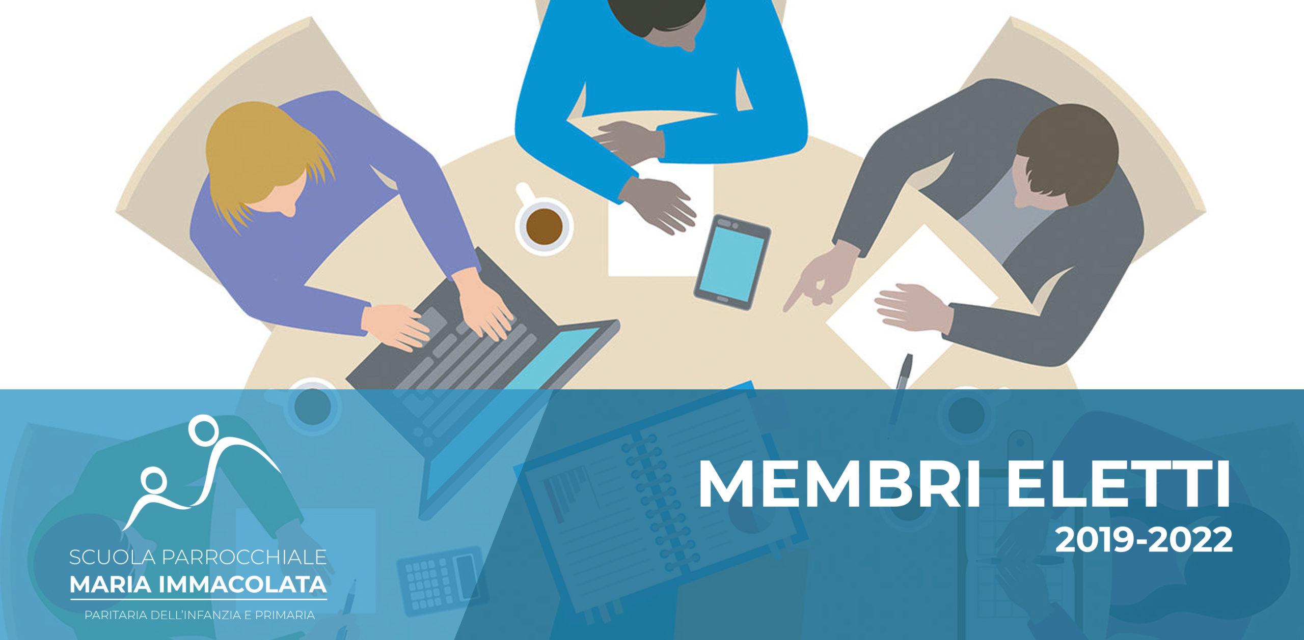 Membri Consiglio d'Istituto 2019-2022
