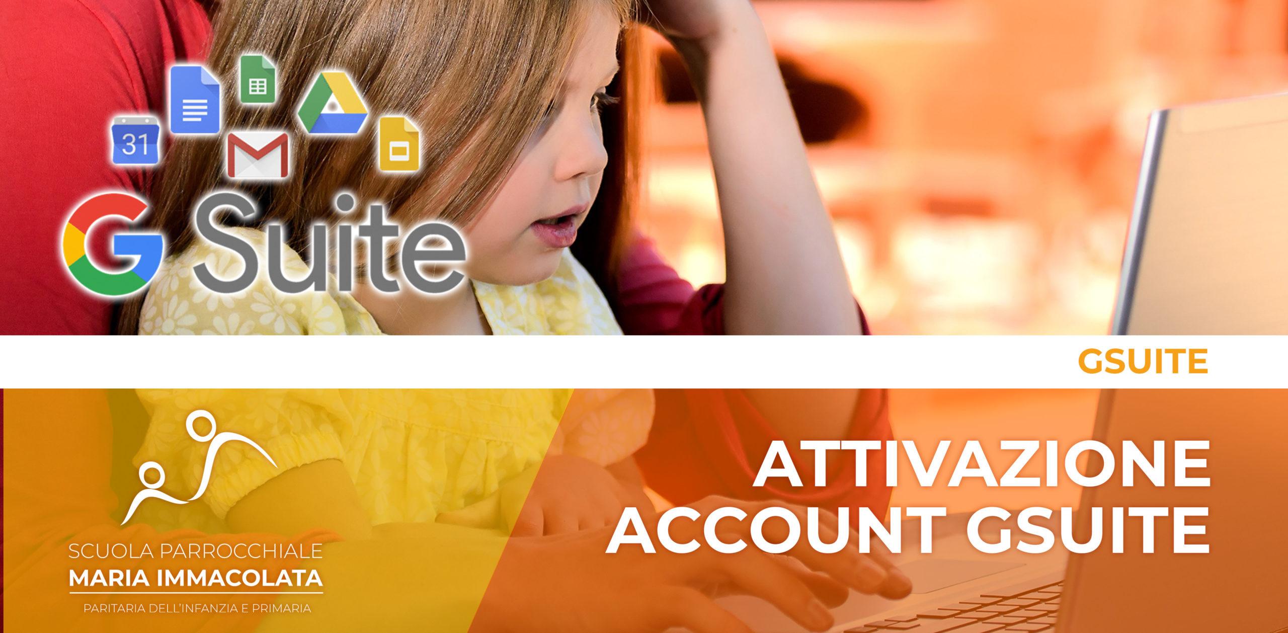 Guida per attivare l'account Google Suite della scuola