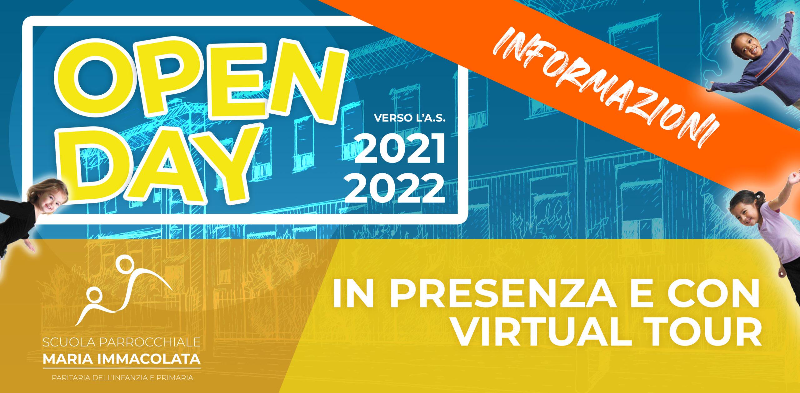 Open Day: verso l'anno scolastico 2021-2022