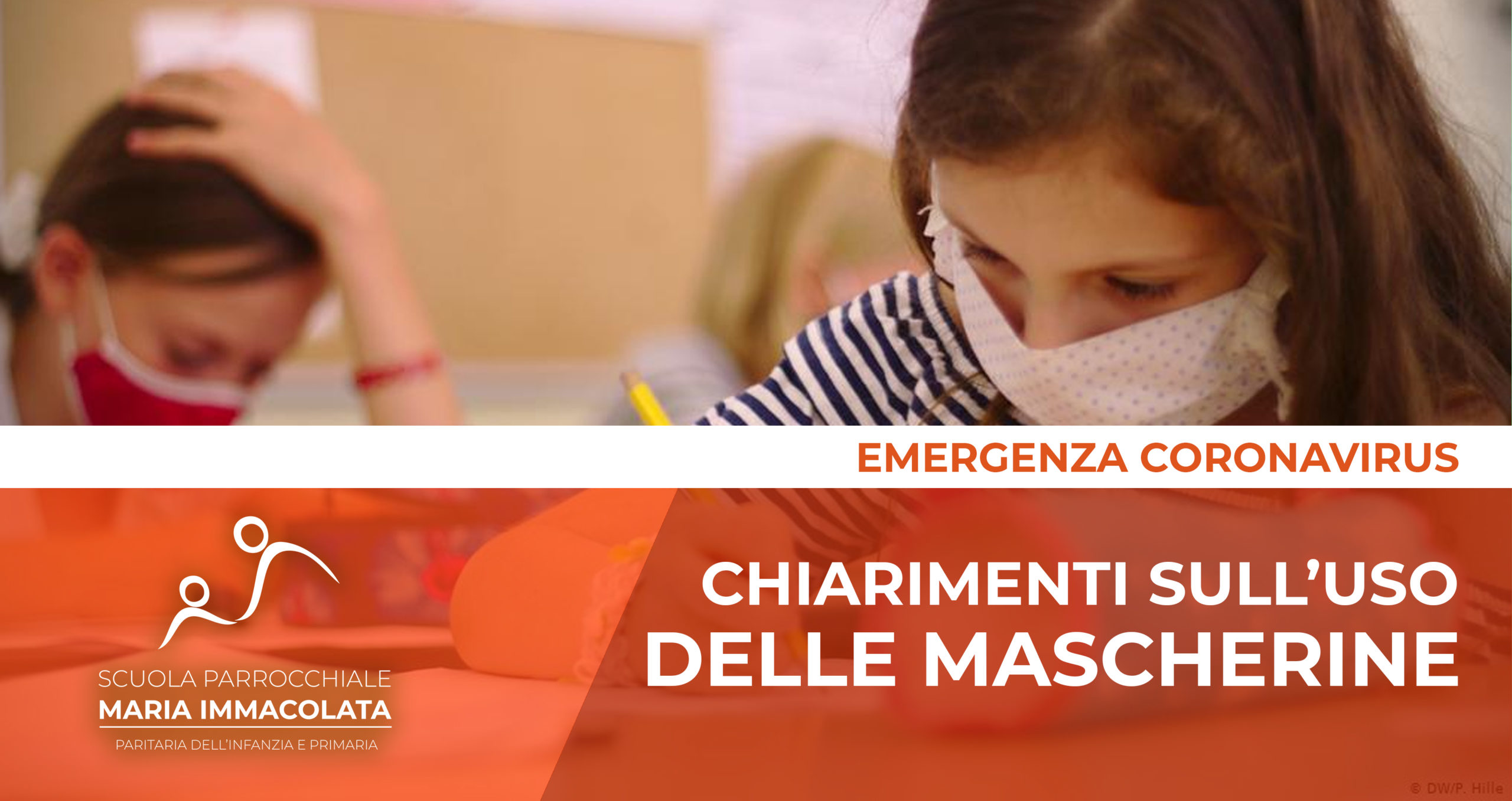 Chiarimenti del ministero sull'uso delle mascherine nella Scuola Primaria