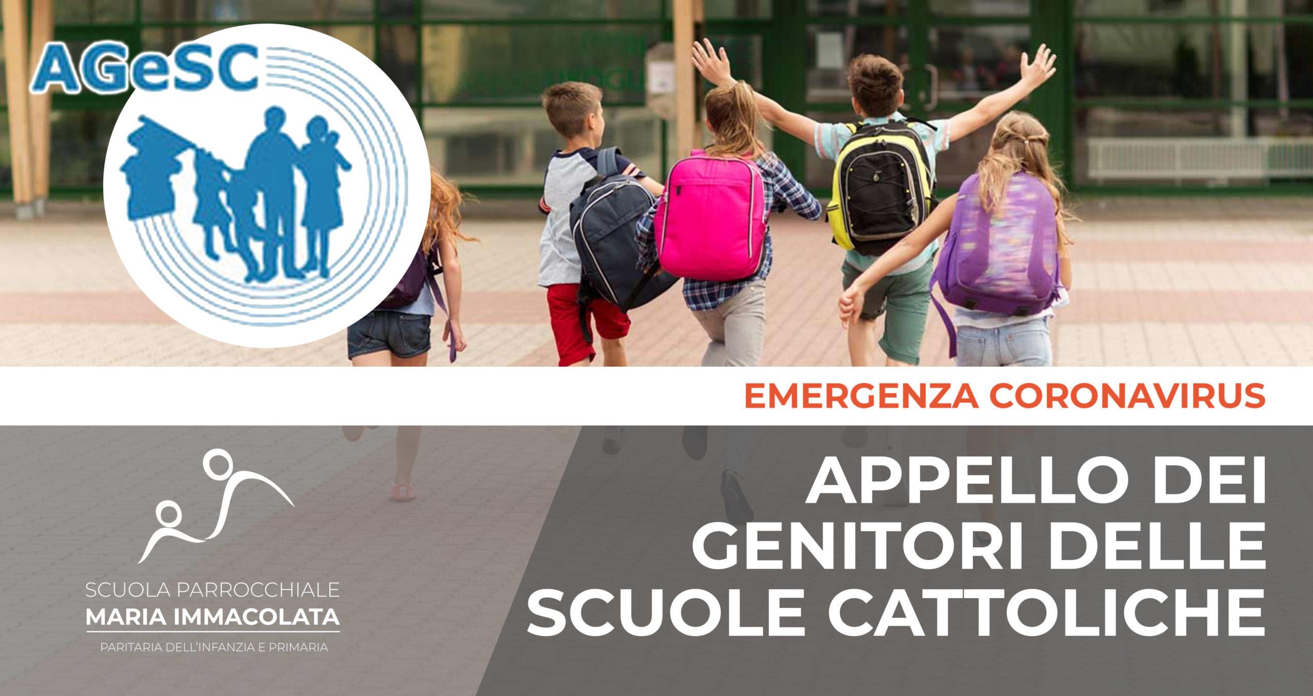 Appello dei genitori delle Scuole cattoliche per il ritorno in presenza delle scuole secondarie