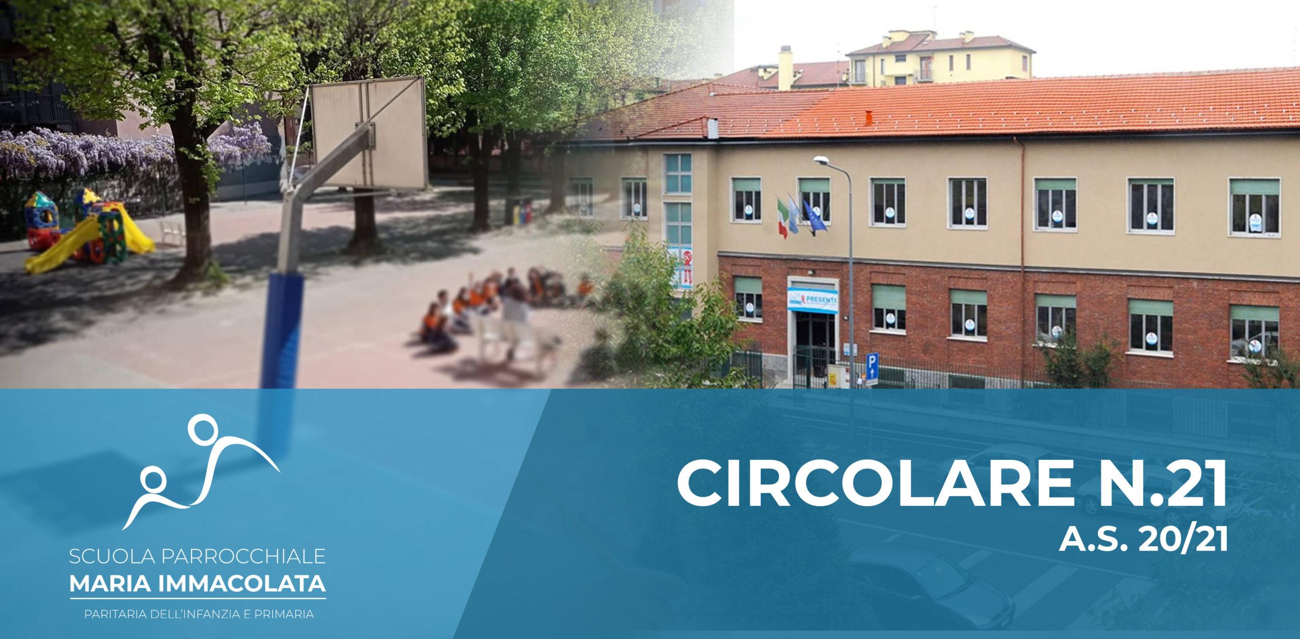 Circolare del 12 aprile 2021: Sorveglianza Covid19, mobilitazione del 19 aprile e Progetto polo educativo