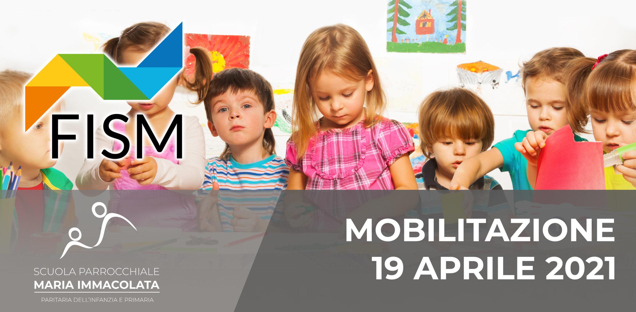 """Mobilitazione 19 aprile 2021: """"Prima i bambini! Gratuità e parità per l'Infanzia"""""""