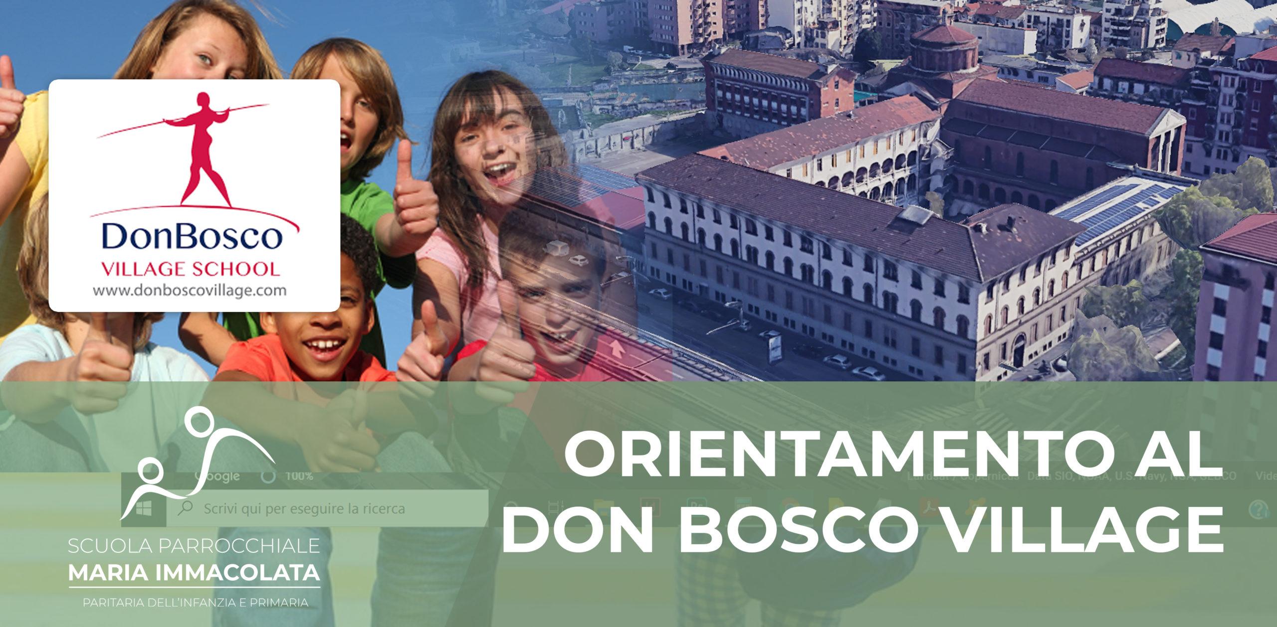 Verso la Scuola media: giornata di orientamento al Don Bosco Village per i bambini di 4^