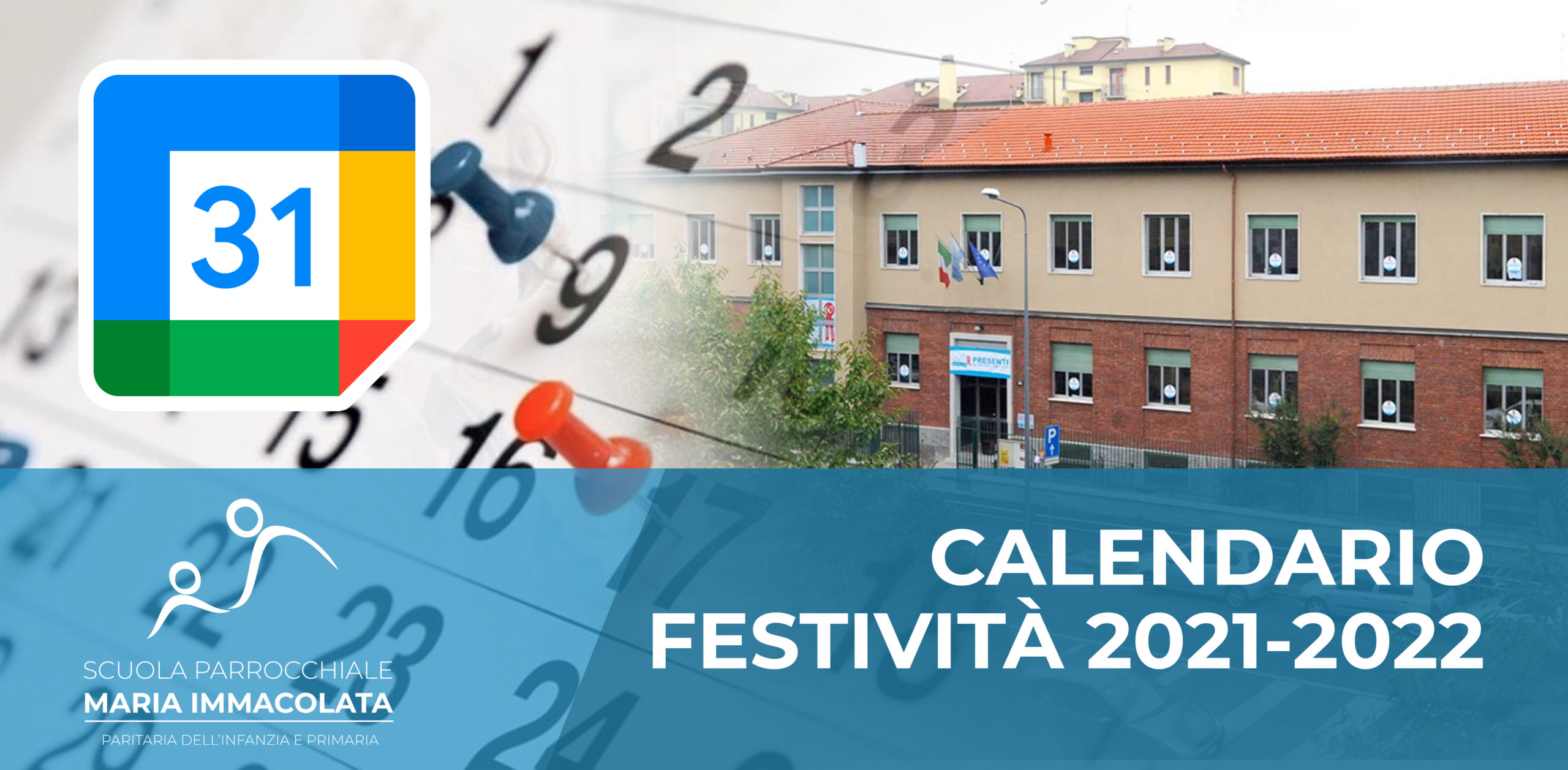 Calendario delle festività 2021-2022