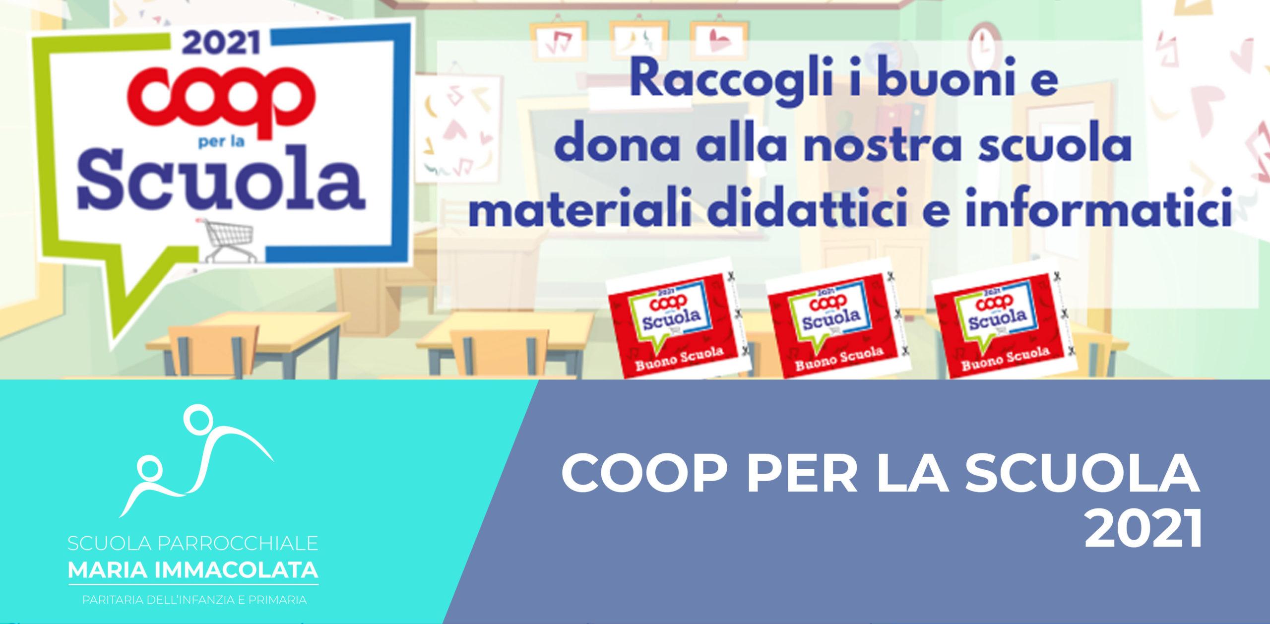 Iniziativa Coop per la Scuola 2021