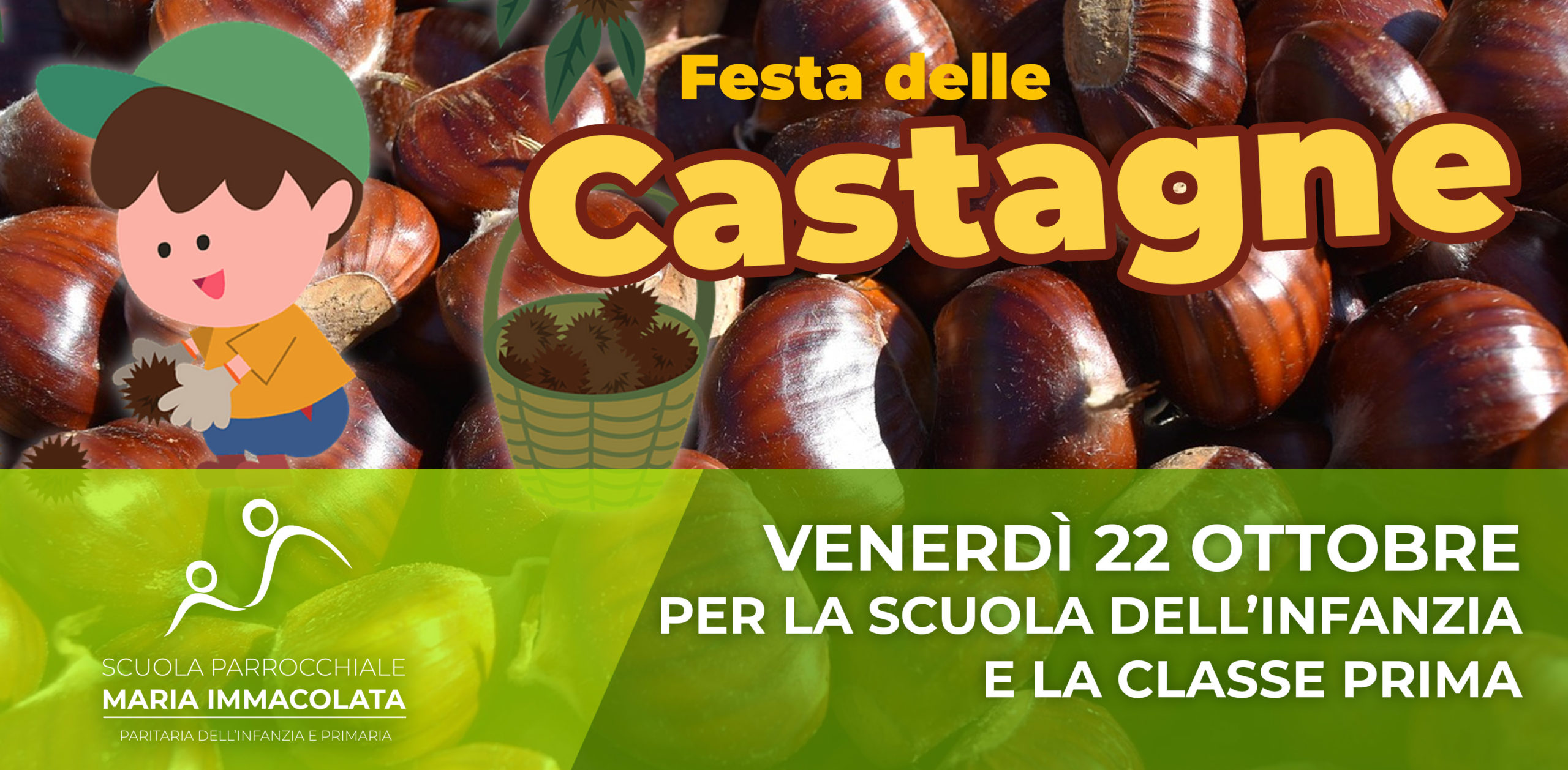 Venerdì 22 ottobre 2021: Festa delle castagne