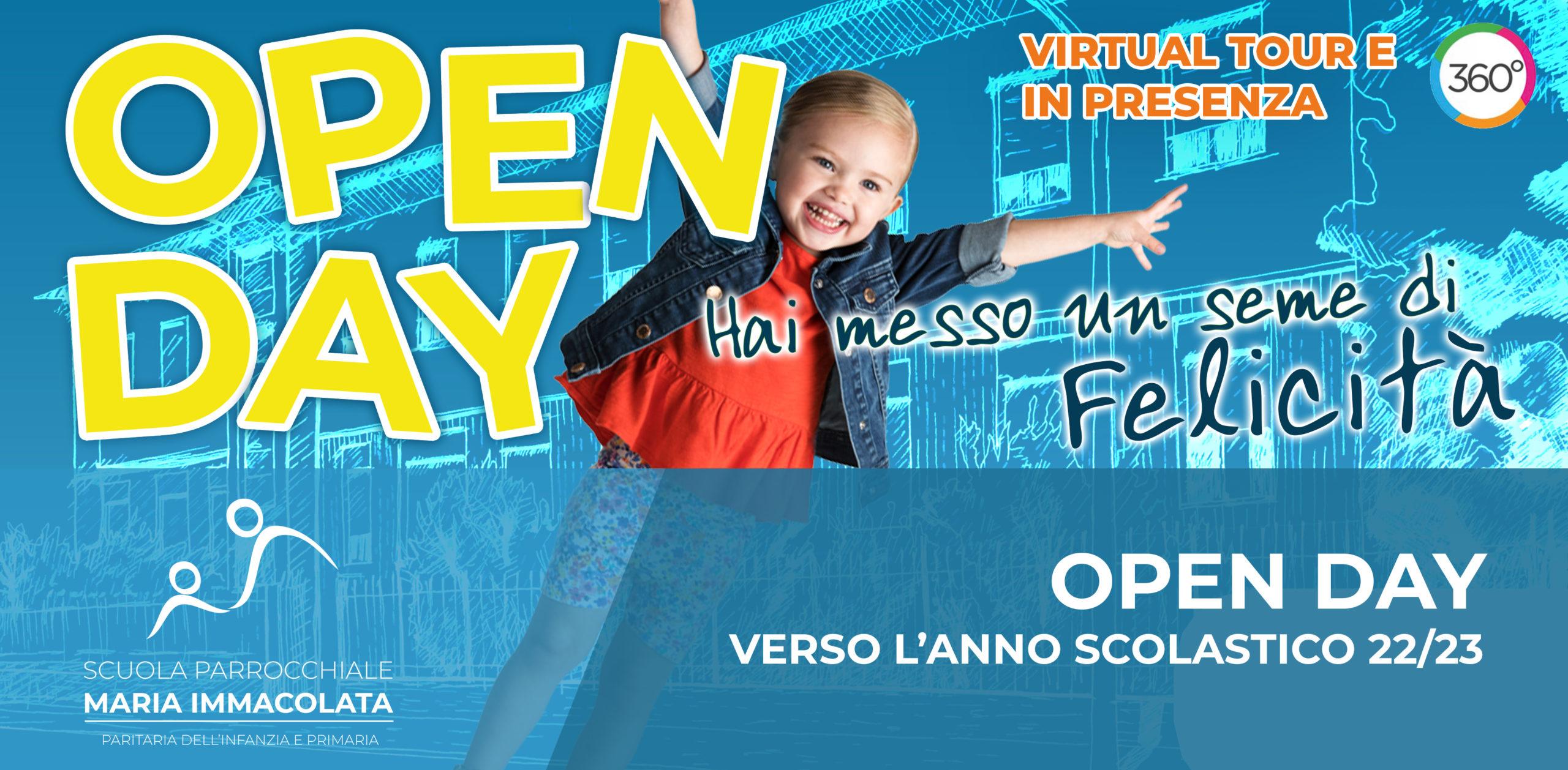 Open Day verso l'anno scolastico 2022-2023